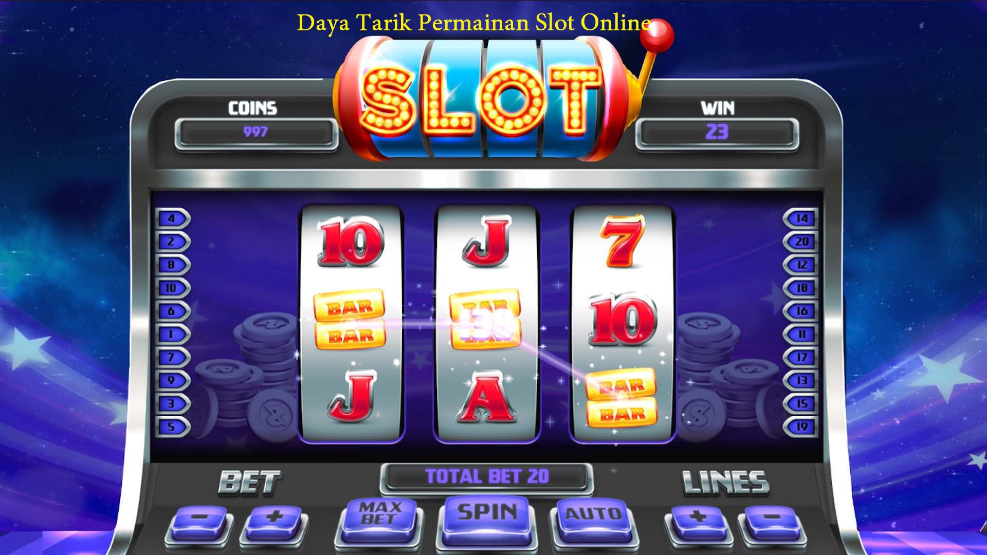 Daya Tarik Permainan Slot Online